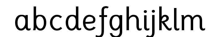 TuffyScript-Regular Font LOWERCASE