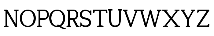 Tugano-DEMO Font UPPERCASE