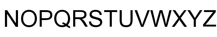 Tulasi Normal Font UPPERCASE