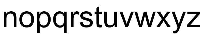 Tulasi Normal Font LOWERCASE