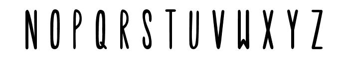 Tulip Font UPPERCASE
