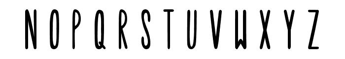 Tulip Font LOWERCASE