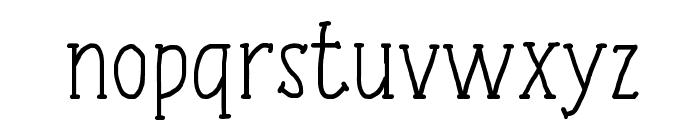 Tulisan Tangan 74 Font LOWERCASE