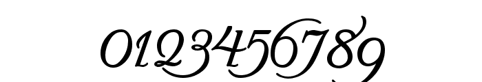 Turbayne Running Hand Font OTHER CHARS