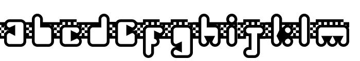 Turbineable Regular Font LOWERCASE