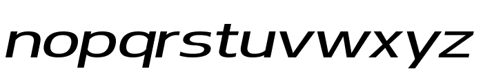 Turbo Font LOWERCASE