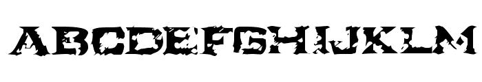 Turbulence  [R.I.P Ikarus] Font UPPERCASE