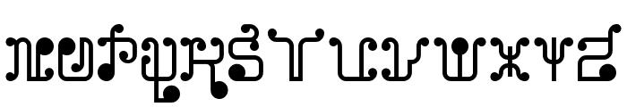 Turk and Nusa Regular Font UPPERCASE