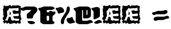 Turmoil BRK Font OTHER CHARS