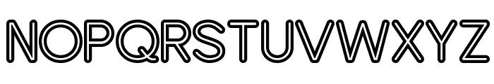 Turn Table BV Font UPPERCASE