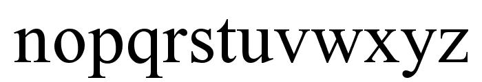 Turn W Font LOWERCASE