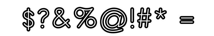 TurnTableOT Font OTHER CHARS