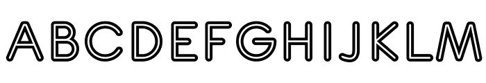 TurnTableOT Font UPPERCASE