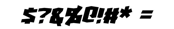 Turok Italic Font OTHER CHARS