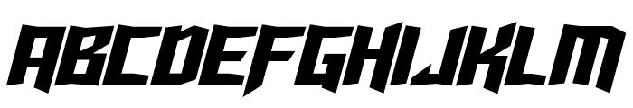 Turok Italic Font UPPERCASE