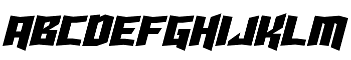Turok Italic Font LOWERCASE