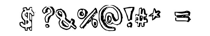 Turtleneck Font OTHER CHARS