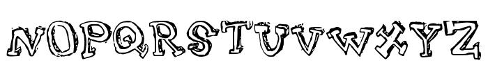Turtleneck Font UPPERCASE
