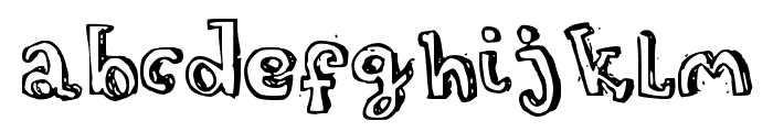 Turtleneck Font LOWERCASE
