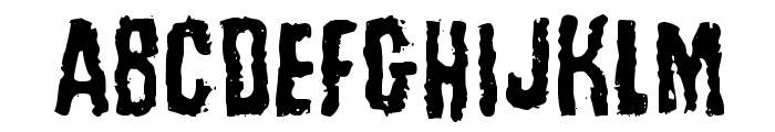 Tussle Font LOWERCASE