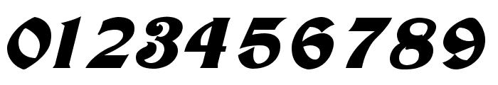 Tutbury Bold Italic Font OTHER CHARS
