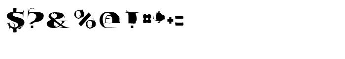 Tumbleweed Regular Font OTHER CHARS