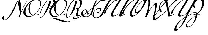 Tupelo Swash Caps Font UPPERCASE