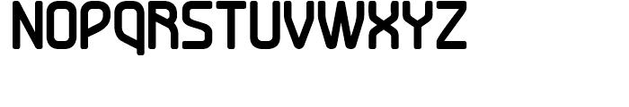 Turbo Bold Font UPPERCASE
