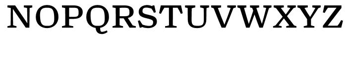 Turnip Regular Font UPPERCASE
