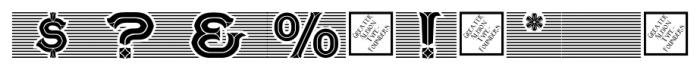 Tulks Victorian Banner Regular Font OTHER CHARS