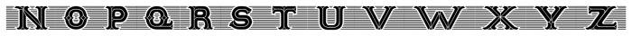 Tulks Victorian Banner Regular Font LOWERCASE