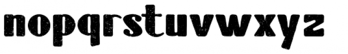 Tubbs Distress Font LOWERCASE