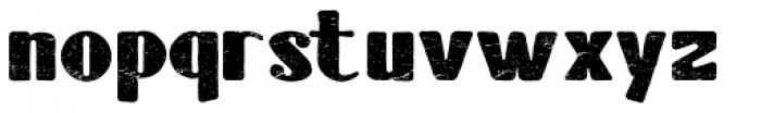 Tubbs Major Distress Font LOWERCASE