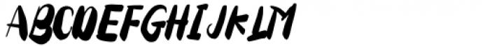 Tuesday Spirit Regular Font UPPERCASE