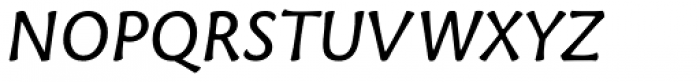 Tuff SemiBold Italic Font UPPERCASE