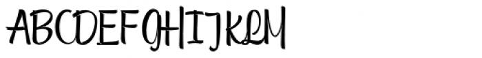 Tulipan Broken Pro Font UPPERCASE