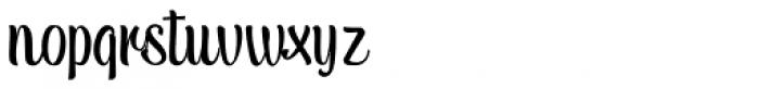 Tulipan Display Standard Font LOWERCASE