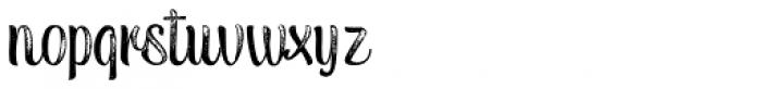 Tulipan Rough Pro Font LOWERCASE