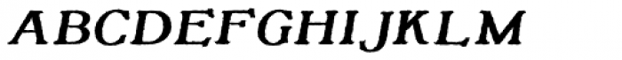Tumbletype No 2 Font LOWERCASE