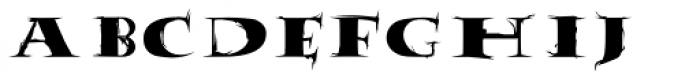 Tumbleweed Font UPPERCASE