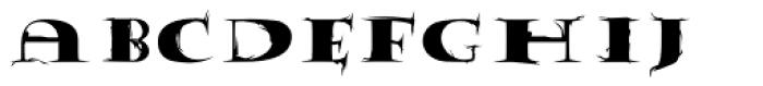 Tumbleweed Font LOWERCASE