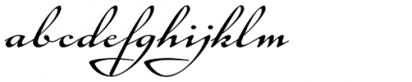 Tupelo Regular Font LOWERCASE