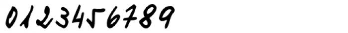 Turandot Handwriting Font OTHER CHARS