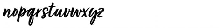 Turbinado Bold Pro Font LOWERCASE