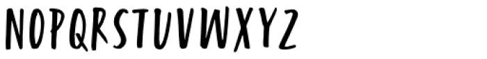 Turbinado Condensed Two Font UPPERCASE