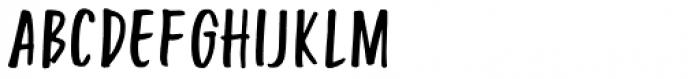 Turbinado Condensed Two Font LOWERCASE