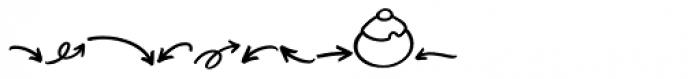Turbinado Elements Font OTHER CHARS