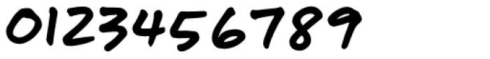 Turbinado Hand Pro Font OTHER CHARS