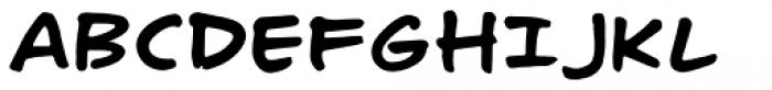 Turbinado Hand Pro Font UPPERCASE