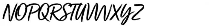 Turbinado Font UPPERCASE